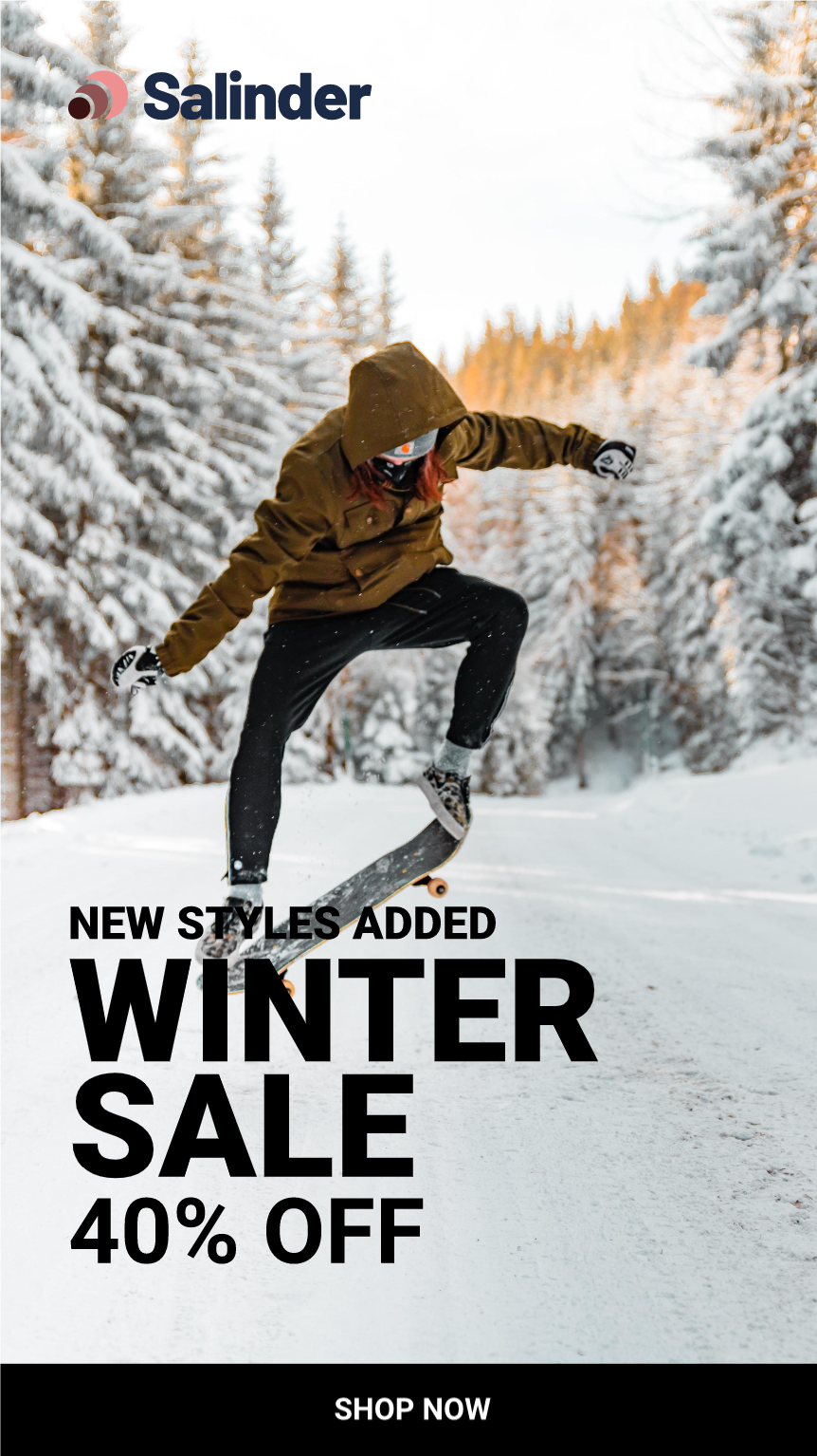 Template Promo - Winter sale