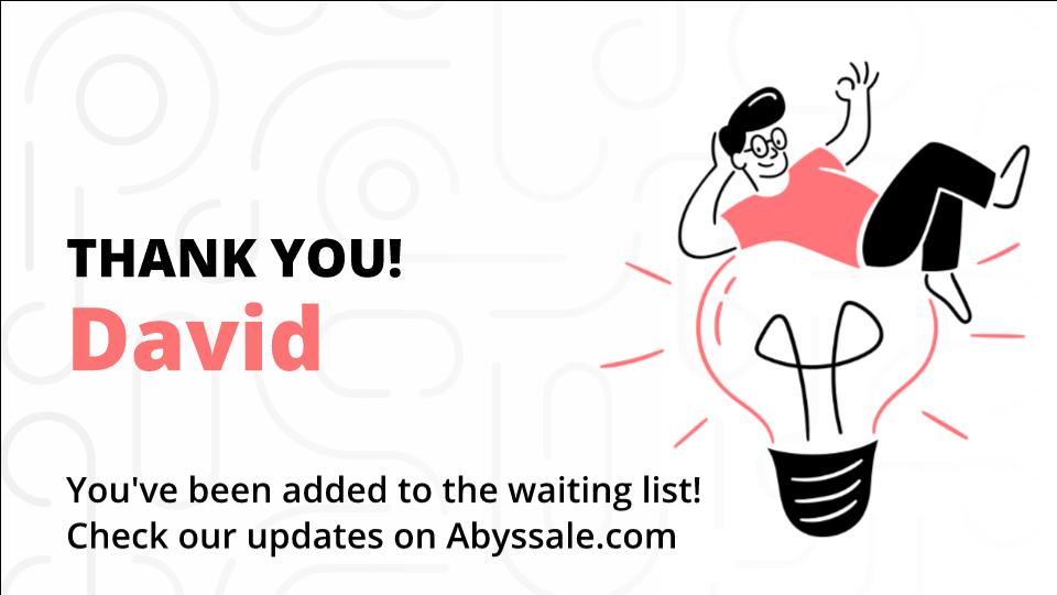 Template Chatbot - Waiting list